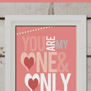 Imprimibles para San Valentín