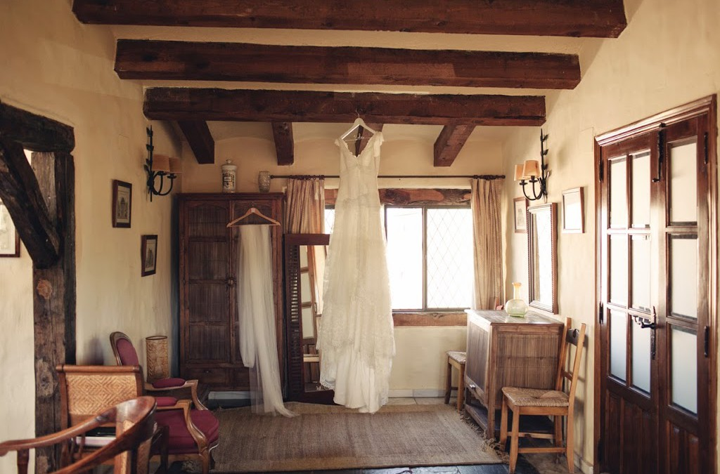 La boda de Belén y Guillaume, romanticismo en estado puro