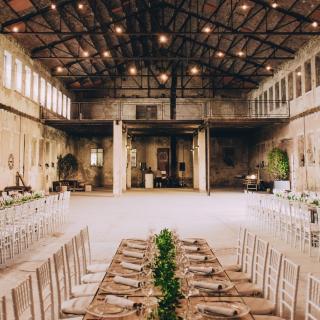 La boda industrial de Sara y Miguel