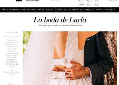Lucía se casa