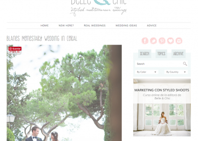 Belle & Chic - Presume de boda - wp