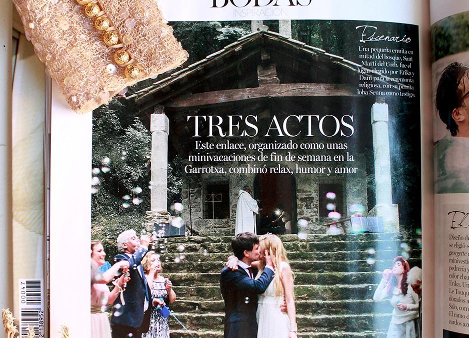 La boda de Erika y Dani en Vogue Novias