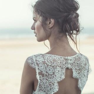 Peinados para novia según el tipo de vestido
