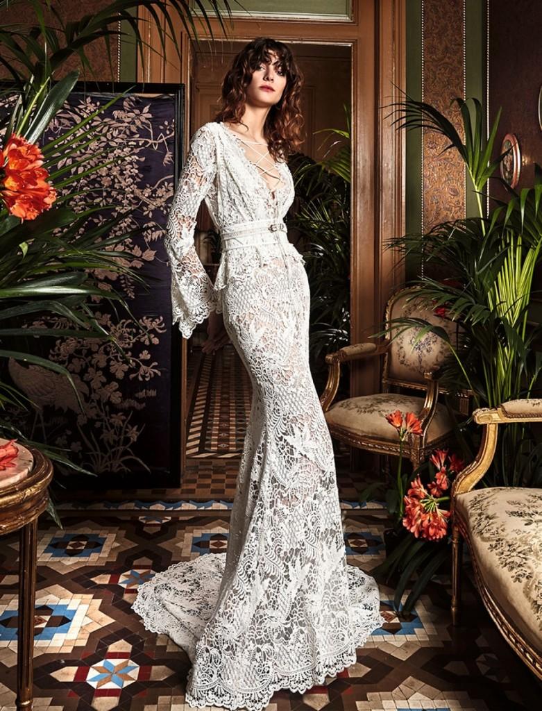 boho_chic_wedding_dresses_2017_bohemian_lace_wedding_dress_yolan_cris_chris_style_canam