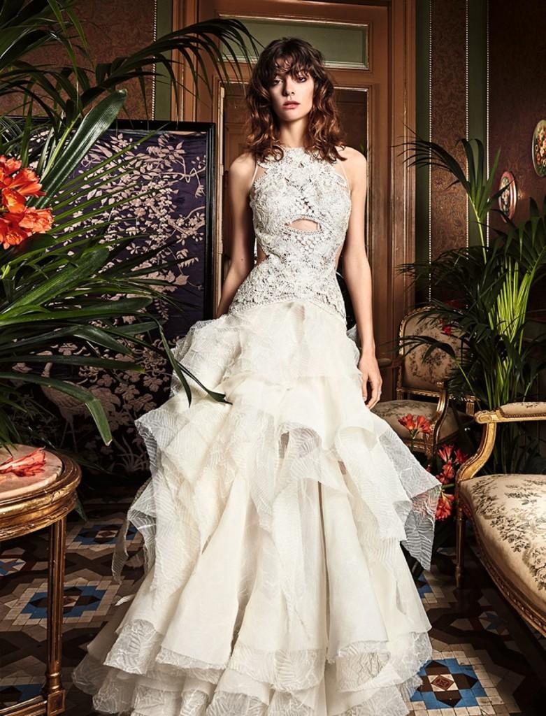 boho_chic_wedding_dresses_2017_bohemian_lace_wedding_dress_yolan_cris_chris_style_centella