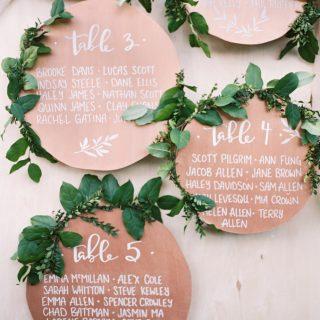 Propuestas Greenery para tu boda