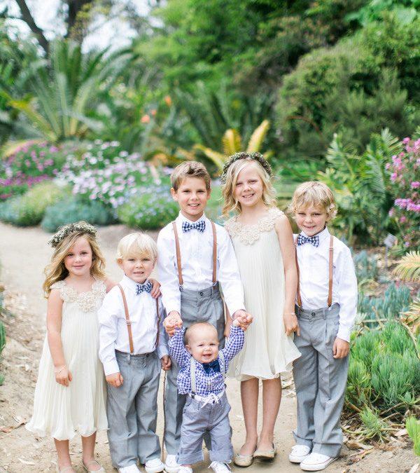 ¿Qué hago con los niños en mi boda?