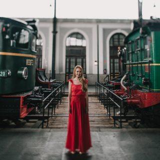 Inspiración para invitadas en un tren